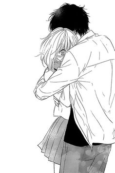 Image about girl in blacknwhite manga by redeubelbet Image Couple, Cute Couple Art, Anime Love Couple, Manga Anime, Anime Couples Manga, Cute Anime Couples, Anime Lindo, Manga Cute, Dibujos Cute