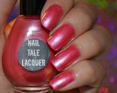 """Roseate"" 12ml #NailTaleLacquer $6.15 on https://www.etsy.com/shop/NailTaleLacquer"