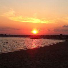 Long Island Sound Sunset.