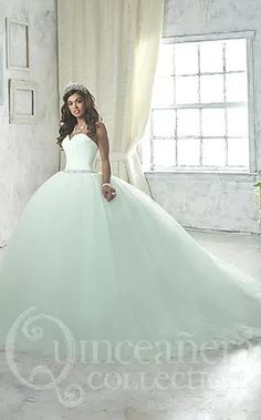 0b8702ef0f Make a grand entrance in a House of Wu Quinceanera Dress Style Number 26849  during your Sweet 15 party or any formal event. A beautiful strapless  sweetheart ...