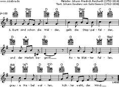Bunt sind schon die Wälder - Kinderlieder und Singspiele   Labbé Verlag