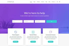 Stratus boasts an average rating of 4.86 out of 5 stars and 800+ reviews, which are an indicator of its standards. This widget ready theme comes with more than 48 widgets for a wide range of administrative purposes.#startup #agency #websitetemplates Form Builder, Admin Panel, Professional Website, Start Up Business, Website Template, Wordpress Theme, Investing, This Or That Questions, Range