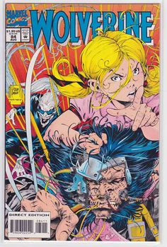 Wolverine Vol. 2 # 84 by Adam Kubert & Mark Farmer Wolverine Comics, Marvel Comics, Rare Comic Books, Comic Book Artists, Comic Book Covers, Dragon Ball Z, Comics Story, American Comics, Marvel Characters