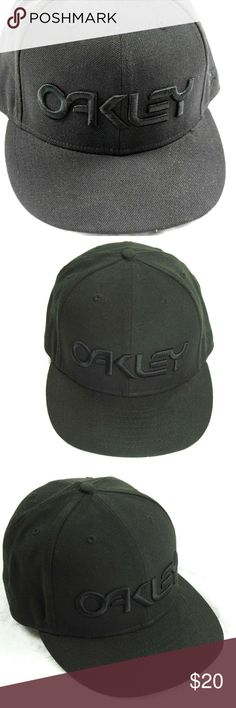 bff17964ef7 New Era Oakley Hat Cap Fitted Black 59Fifty Fitted Oakley Hat Cap Fitted  Black 59Fifty Fitted Size 7 3 8 58.7 cm Pre-Owned In Great Condition See  Pics For ...