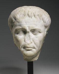 a marble portrait head of the empe Ancient Aliens, Ancient Art, Ancient History, The Bible Movie, Male Portraits, Roman Emperor, Ancient Romans, Ancient Civilizations, Irises