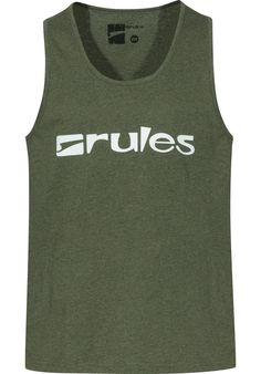 Rules Basic - titus-shop.com  #TankTop #MenClothing #titus #titusskateshop