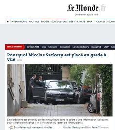 Sarkozy fermato: così la notizia sui siti stranieri