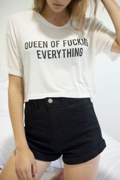 Brandy ♥ Melville | Trina Queen of Everything Top - Graphics