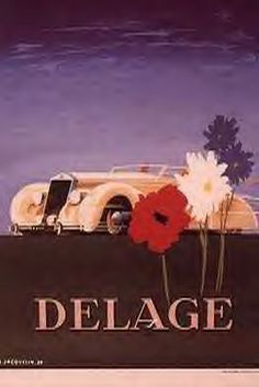 Delage posters