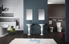 Formosa collection - Bathroom furniture - Olympia Ceramica. http://www.olympiaceramica.it/it/formosa/