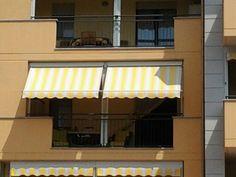 Tenda veranda estate inverno doppio rullo vista esterna www.mftendedasoletorino.it