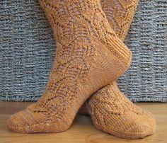 Ravelry: Palisades Socks pattern by Cynthia Levy