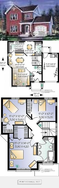 House plan W2842 detail from DrummondHousePlans.com - created via http://pinthemall.net