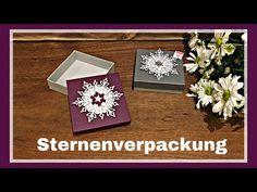 STERNENVERPACKUNG #15 SCHNEEGESTÖBER DEUTSCH ANLEITUNG TUTORIAL STAMPIN`UP! - YouTube