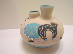 SOLD - Betty Selby Handmade Native American Pottery Jar Vase by vertzvkv, $32.00