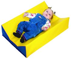 Economical alternative to a changing table, this vinyl is soft for baby's skin and easy to clean and disinfect.