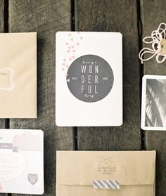 Indie wedding invites   photo by Byron Loves Fawn Photography   100 Layer Cake