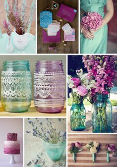 aqua magenta color inspiration - event solutions