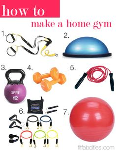 key ingredients to making your very own home gym... These are some of the Best pieces of equipment (o=
