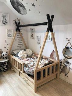 Kinderzimmer Junge TIPI BED - Scandi room, Selecting Your Carpet We've all done it. Diy Toddler Bed, Boy Toddler Bedroom, Toddler Rooms, Baby Boy Rooms, Kids Bedroom, Toddler Beds For Boys, Scandi Bedroom, Baby Room Design, Baby Room Decor
