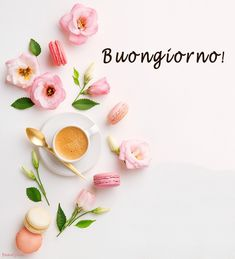 it - Best Pins Live Good Night, Good Morning, Italian Memes, Flower Wallpaper, Flower Art, Italy, Coffee, Video, Banners