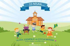 23 Nisan Ulusal Egemenlik ve Çocuk Bayramı | Yurtlar Evimiz