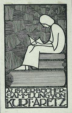 [Ex libris Kurt Aretz]  by Stifts- och landsbiblioteket