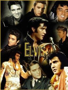 MANY FACES OF ELVIS
