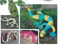 Gecko Frecko [FREE Crochet Pattern]