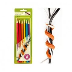 Cable wraps that look like pencils. $14.99