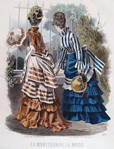 Mid-1870s, Le Moniteur de La Mode