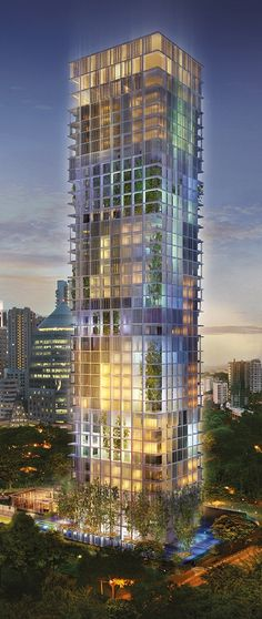 Le Nouvel Ardmore, Singapore designed by Jean Nouvel :: 33 floors