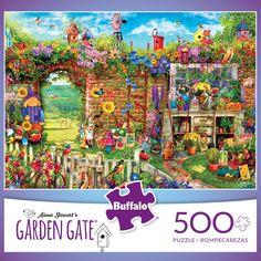 Aimee Stewart's Garden Gate 500 Piece Jigsaw Puzzle - Buffalo Games