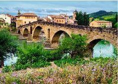 Puente la Reina, Spain Spain Jigsaw Puzzle