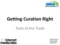 Watch video and learn some basic tips on content curation