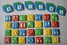 alphabet block cookies - Google Search