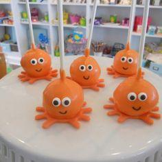 Octopus cake pops!