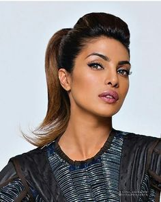 Miss Priyanka Chopra. Whenever I pick a script, I make sure I'm choosing something I would want to watch. And 'Quantico' was something I'd definitely want to watch. As soon as I read the pilot - and I read 26 - I knew this was it. Bollywood Celebrities, Bollywood Fashion, Bollywood Actress, Priyanka Chopra, Celebrity Hairstyles, Messy Hairstyles, Tina Desai, Cute Girl Face, Beautiful Gorgeous