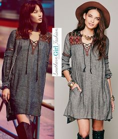 "Free People $168 ""Ties To Florence Dress"" - Size Small - Coachella NWT #FreePeople #TunicDress #Casual"