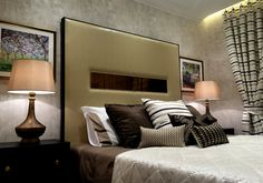 Luxury Bedroom in Abbey Lodge building - London | SISSY FEIDA INTERIORS