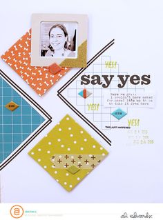 Say Yes by CristinaC at @studio_calico