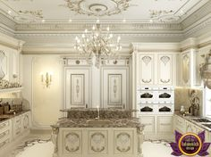 Kitchen Design in Classic Style