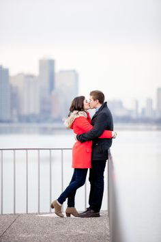 A Chicago Winter Engagement // Lisa Diederich Photography