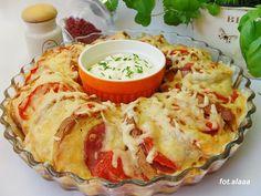 Ala piecze i gotuje: Zapiekanka z bułki