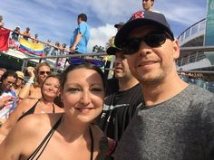 Donnie Wahlberg NKOTB Cruise 2015 Selfies