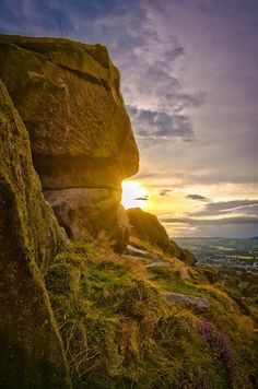 Cow and Calf Rocks, Ilkley on Behance, West Yorkshire, UK