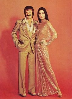 RARE mid-1970s SONNY and CHER Matching Original Publicity Gown and Suit by by BOB MACKIE and RET TURNER!  Offered for sale at $ 40,000.