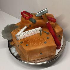 Birthday cake carpenter tools Geburtstagstorte Schreiner Werkzeuge