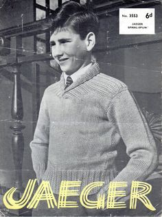 "boys shawl collar sweater knitting pattern roll neck jumper  23-32"" DK light worsted 8 ply childrens knitting pattern pdf download by Minihobo on Etsy"