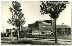 Het Diaconessenhuis Ziekenhuis, zoals het er in 1956 uitzag toen ik daar geboren werd